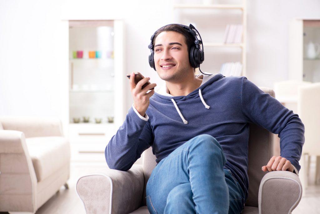 Audiobook listener