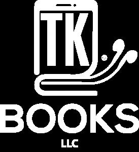 TK Books Logo White